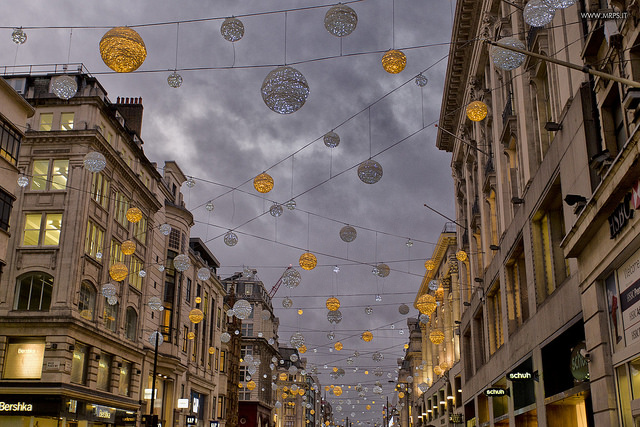 Christmas in Oxford Street